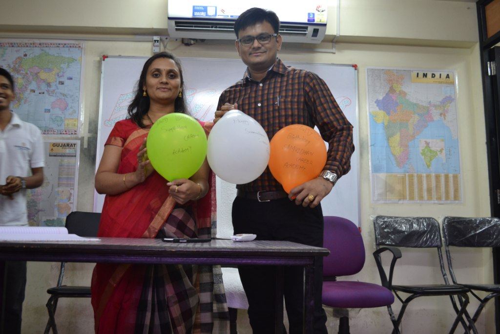 Academy's First Birthday celebration (1st November, 2015)
